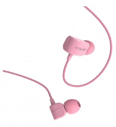 Гарнитура Remax RM-502 розовая
