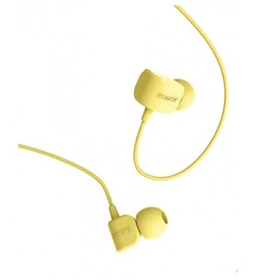 Гарнитура Remax RM-502 желтая