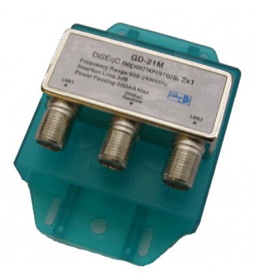DiSEgC GD-21M   переключатель 2x1 OPENMAX