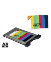 Комплект CAM-модуль с картой доступа Телекарта 12 HD