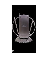 Антенна активная комнатная МВ+ДМВ с усилителем АРА-031