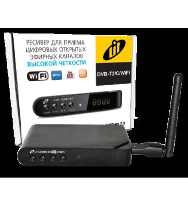 Ресивер эфирный цифровой DVB-T2 /C/Wi Fi AC3 Lit Combo