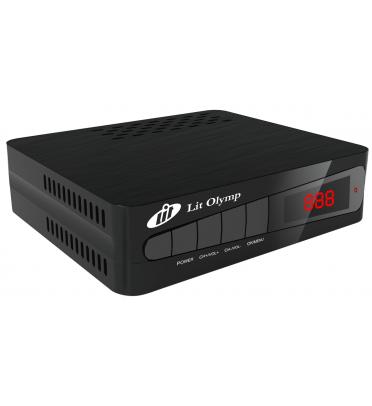 Ресивер эфирный цифровой DVB-T2 Lit Olymp+