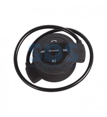 Bluetooth-наушники mini-503TF с микрофоном microSD черные