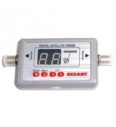 Измеритель уровня сигнала спутникового ТВ цифровой  SF-9505  (SAT FINDER)  REXANT, 12-1104