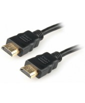 Шнур HDMI - HDMI gold 1.5М без фильтров (PE bag)