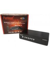 Ресивер цифровой эфирный + кабельный DVB-T2+C Pantesat HD -2558