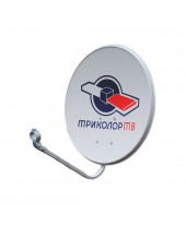 Антенна CTB- 0,6  ДФ-1,1 0,55 СКН-605 logo с лого Триколор с кронштейном